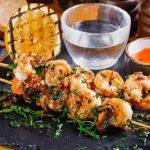 Grilled garlic shrimp recipe