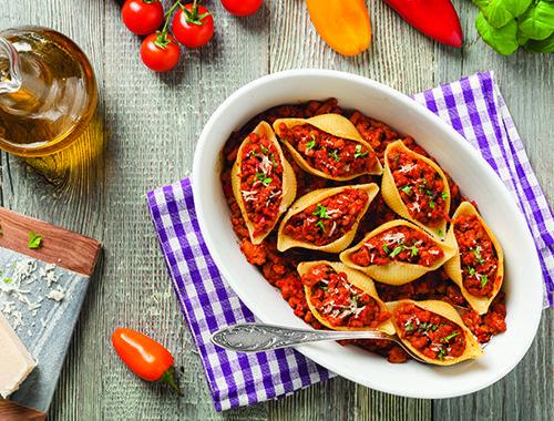 Ground beef pasta bake