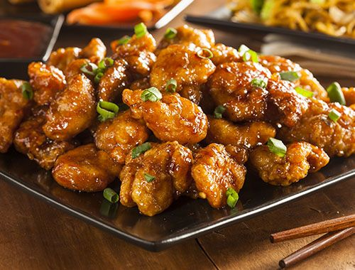 Chinese Orange chicken recipe