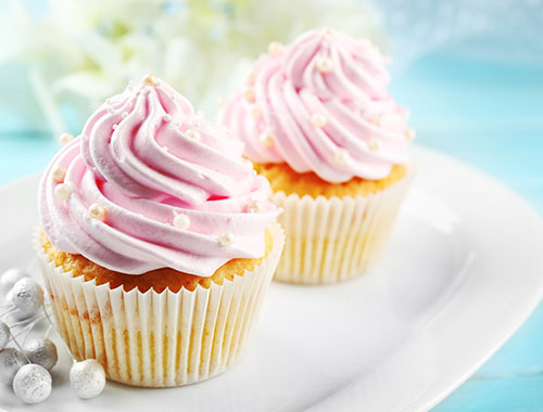 Strawberry cupcakes recipe