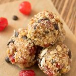 Peanut Butter Energy Balls with Dry Fruits