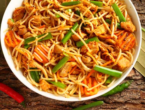 Peanut Butter Chicken Noodles