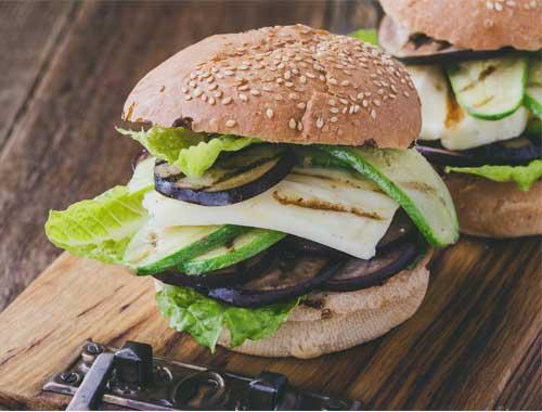 Hallloumi Burger