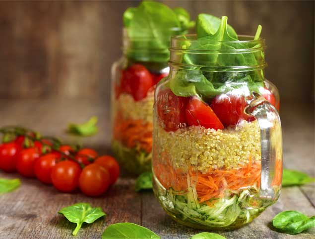 Quinoa Salad Jar