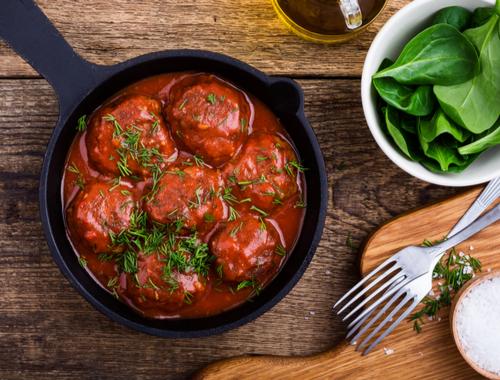 Meatballs-Marinara-Sauce