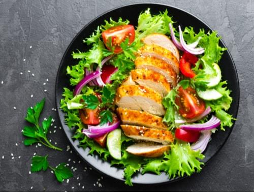 Chicken-barbecue-salad