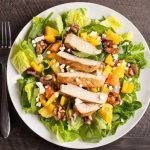 Green-salad-mixed-with-Balsamic-Vinaigrette